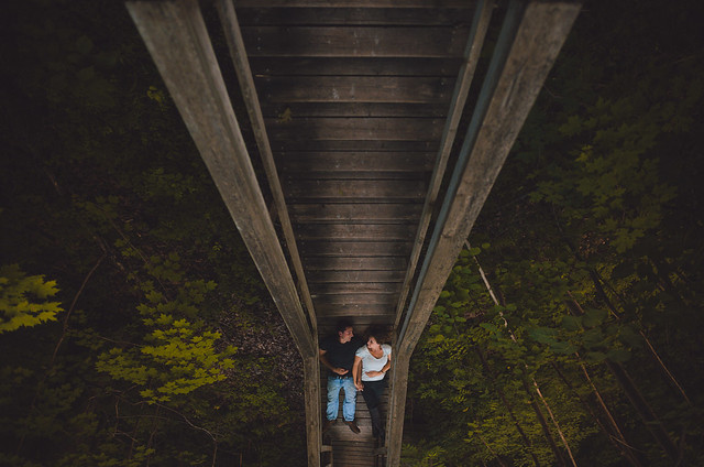 Kristine & Chris // Rock Glen Engagement // Arkona, Ontario