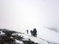 """Descending to Camp 3 • <a style=""""font-size:0.8em;"""" href=""""http://www.flickr.com/photos/41849531@N04/19836395033/"""" target=""""_blank"""">View on Flickr</a>"""