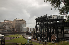 Anderton Boat Lift, Cheshire (Sara@Shotley) Tags: heritage history industry river canal industrial lift cheshire victorian engineering structure leisure waterway northwich andertonboatlift