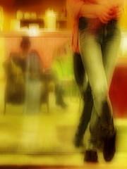 Reminiscence of  the Cellar of Dogs` Tower: 4)...so we spent the time together at the closed bar until we were called for work by the assistent director so haben die Bühnenbildassistentin und ich die Zeit an der geschlossenen Bar gemeinsam verbracht bis (hedbavny) Tags: vienna wien pink blue shadow wallpaper woman distortion selfportrait blur reflection green lamp female bar work austria mirror lampe österreich blurry waiting theater break theatre rehearsal sleep spiegel probe leg dream bein rosa ornament müde tired rest buffet juli grün pause blau frau backstage job tapete arbeit schatten spiegelung impression aktion profession handwerk selfie schlaf warten selbstporträt traum werkstatt handwerker büffet gedanken souffleur fermate souffleuse maigrün fertigstellung aktionismus prompter überlegungen ausfertigung morgestimmung hedbavny arbeitslicht ingridhedbavny