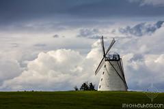 Un des rares moulins restaurés.