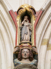 Exeter Cathedral (pefkosmad) Tags: uk england sculpture building church architecture worship cathedral interior gothic medieval devon exeter figure middleages anglican statuette corbel exetercathedral placeofworship hallowedground churchofengland