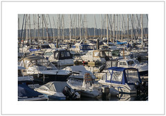 Brixham Marina, Evening Light (Pictures from the Ghost Garden) Tags: sea color colour boats evening coast seaside nikon harbour devon dslr brixham 18105mm d7100