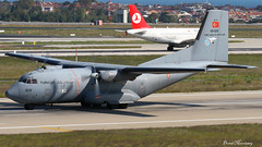 Turkish Air Force Transall C-160D 69-029 (birrlad) Tags: turkey airplane airport force ataturk taxi aircraft aviation military air airplanes istanbul international airforce departure ist takeoff runway defense turkish prop departing taxiway transall c160d 35l turboprops 69029