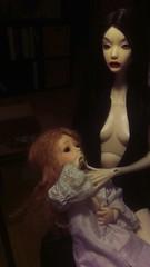 Mother and daughter (DarklighterDolls) Tags: bjd serenadedoll serenadesuu soom rosette delilah legit