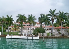 USA (Florida-Miami) One of the celebrity house in the  Star Island (ustung) Tags: us florida miami starisland celebrity house building kodak seascape