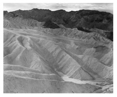 Death Valley - Zabriskie Badlands (Summicron20/20) Tags: chamonix 10x12 inch field camera nikon nikkor m 450mm f9 ilford fp4 ulf ultra large format rodinal 125