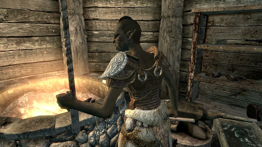 blacksmith forge skyrim - photo #23