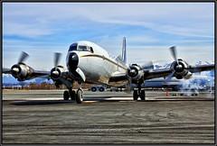 N151 Everts Air Cargo (Bob Garrard) Tags: n151 everts air cargo anc panc douglas dc6b freighter