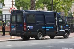 Policía Federal Argentina (rivarix) Tags: argentina buenosaires policeman policeofficer lawenforcement cops policíafederalargentina argentinefederalpolice policecar policevehicle policevan