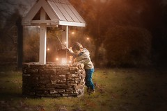 The wish (Windermere Images) Tags: windermereimages wish fairytale dreams childhood studio believe wales penderyn love happy excited boy january start venture wishing well fireflies magic