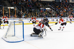 "Missouri Mavericks vs. Cincinnati Cyclones, January 25, 2017, Silverstein Eye Centers Arena, Independence, Missouri.  Photo: John Howe / Howe Creative Photography • <a style=""font-size:0.8em;"" href=""http://www.flickr.com/photos/134016632@N02/31746420953/"" target=""_blank"">View on Flickr</a>"