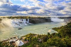 Niagara Falls (72JuSeMa12) Tags: niagarafalls waterfall canada unitedstates horseshoefalls americanfalls bridalveilfalls goatisland lunaisland niagarariver buffalonewyork niagarafallsontario ontario niagarafallsnewyork skylontower rainbowbridge maidofthemist hornblowercruises boattour canon eos canon5dmarkiii 5dmarkiii ef2470mm jusema