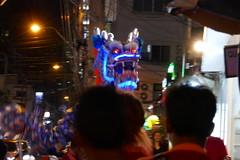 Dragon looks our way on Chinese Lunar New Year - Bangkok, Thailand (ashabot) Tags: lunarnewyear bangkok thailand bangkokstreetscene peopleoftheworld dragon night nightshots nightlights nightlife internationalcities travel seetheworld