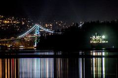 Aberrations 👀✨ Vancouver, BC (Michael Thornquist) Tags: lionsgatebridge stanleypark prospectpoint englishbay tidepool sandbar reflection cargoship bulkcarrier northvancouver northvan vancouverphotos vancouver britishcolumbia dailyhivevan vancitybuzz vancouverisawesome veryvancouver 604now photos604 explorecanada ilovebc vancouverbc vancouvercanada vancity pacificnorthwest pnw metrovancouver gvrd canada