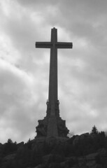 Valle de los Caídos (qatsi) Tags: spain sanlorenzo church memorial basilica spanishcivilwar franco cross