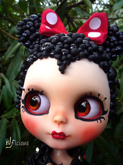 Bubble-Minnie-Mouse´s eyes
