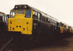 01684 31173 March Depot 24.05.86 (31417) Tags: 31173 31 ped march