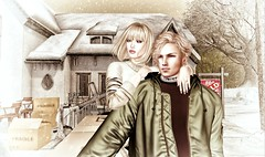 welcome to our new home (Luca Arturo Ferrarin) Tags: secondlife moving house life love couple