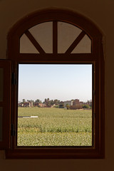 The Cultivation at Abydos (Chris Irie) Tags: egypt abydos window