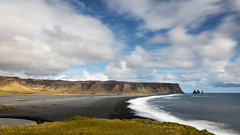 I wanna go to the beach (OR_U) Tags: 2017 oru iceland vik reynisfjarablacksandbeach reynisfjara beach coast sea rocks 169 widescreen landscape seascape le longexposure clouds sky movement iggypop