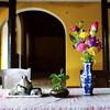Colorful Table (katushang) Tags: vietnam hoian d800e 35mmaf2d 35mmafd 35f2afd southeastasia coloful yellow 越南 nikon