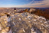North Fork Mountain: Lord of the mountains (Shahid Durrani) Tags: north fork mountain chimney top winter snow monongahela national forest west virginia