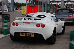 Lotus Exige S (D's Carspotting) Tags: lotus exige s france coquelles calais white 20100613 gx58gwz le mans 2010 lm10 lm2010