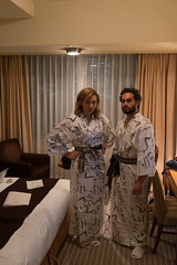 Kimono time (Dominic Sagar) Tags: 2016 danielle fujifilm japan t050 t100 t200 tristan xt1 costume samauri chiyodaku tōkyōto jp