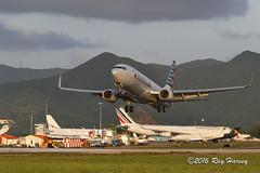 N818NN leaving St. Maarten (320-ROC) Tags: americanairlines american n818nn boeing737 boeing737800 boeing737823 boeing 737 737800 737823 b738 sxm tncm princessjulianainternationalairport stmaarten stmaarteninternationalairport sintmaarten stmaartenairport
