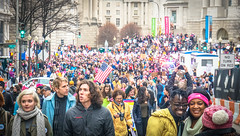 2017.01.21 Women's March Washington, DC USA 2 00166