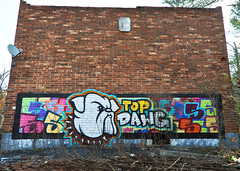 DSC_1600 (rob dunalewicz) Tags: 2017 atlanta abandoned urbex graffiti tags cinco lsd aub
