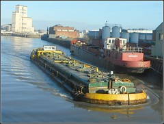 "Barge ""Swinderby "" .. (** Janets Photos **) Tags: uk riverhull riverhumber docks tankbarges"