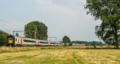 NMBS AM 458 Schellebelle (Tren di Cédrico) Tags: l50 458 am96 mr96 ms96 nmbs sncb schellebelle trein train emu ic intercity