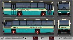 00312 Urubupunga - Caio Vitoria - VW 16180CO (busManíaCo) Tags: busmaníaco desenho drawing drawn urbanos ônibus 00312 urubupunga caio vitoria vw 16180co