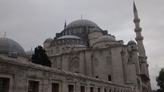 Tale from east... (essam_haffar) Tags: sky tree history window architecture turkey outdoor minaret pray bluesky istanbul mosque ottomans constantinople camii eminn historicalplaces sleymaniyecamii konstantinopolis sultansulaimanmosque
