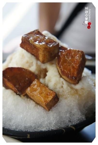 土城 芋尚鮮 剉冰 現打果汁 阿亮中藥加熱滷味拔絲地瓜刨冰 爆爆蛋 創意冰品 爆蛋客 芒果冰