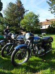 Triumph 6T Thunderbird 650cc OHV (Michel 67) Tags: classic vintage motorbike antigua antiguas moto motorcycle ancienne motocicleta motorrad vecchia motocicletta motocyclette clasica vecchie clasicas motociclette motociclete classik motocyklar motocicletti