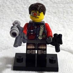 Deadshot (ChocolateFrogs) Tags: comics lego minifig dccomics deadshot