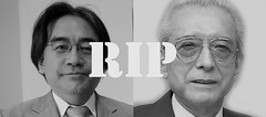 RIP Nintendo's Presidents (RS 1990) Tags: rip nintendo tribute gameover presidents obituary deaths hiroshiyamauchi satoruiwata