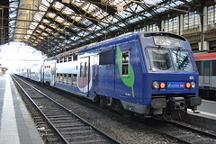 SNCF Transilien 02C 5603 - 5604 (Will Swain) Tags: travel paris france train de french europe lyon gare transport july rail railway des 9th railways franais socit parisian fer sncf nationale transilien 2015 chemins 5603 5604 02c
