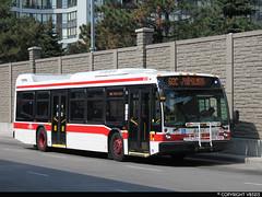 Toronto Transit Commission #8411 (vb5215's Transportation Gallery) Tags: toronto bus nova ttc transit commission lfs 2015
