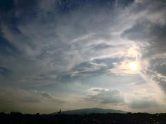 Rokko dreamscape (1) (troutfactory) Tags: sky mountain japan clouds digital landscape view  dreamy  kansai      mountrokko  rokkomountain ipod5