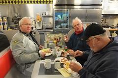 Breakfast before Wells visit