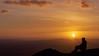 Boxing Day sunset at the top of The Wrekin (David_W_1971) Tags: sunsetsunrise wrekinercall