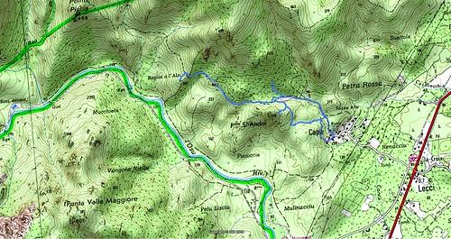 Carte RG vallée basse de l'Osu