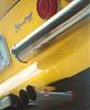 246GT (e.m.alder) Tags: yellow automotive car classic vintage motor driving auto chrome detail mamiya rb67 fujifilm fujicolor pro160ns pro160 c41 homedevelopment 120 mediumformat 6x7 waistlevel manual dof depthoffield 127mm motoring vehicle lines form bumper exhaust dino ferrari 246 246gt fiat