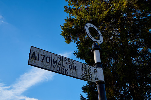 Helmsley NRY Signpost