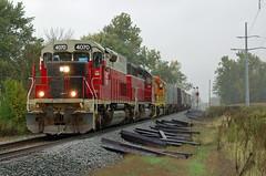 Indiana & Ohio southbound - Leipsic, Ohio (dti407) Tags: iory 2013 d70s rain signal leipsic ohio