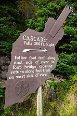 Landmark Sign at Cascade River State Park (WOODSHED Revisited) Tags: lake superior north shore shoreline minn minnesota mn great lakes scenic highway 61 us route cascade river state park grand marais waterfall falls cascading lower